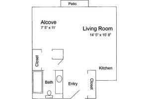 Alcove - 490, Pacifica Senior Living Calaroga Terrace