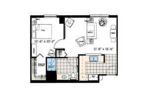 AL-One-Bedroom-Premium, Aston Gardens at The Courtyards