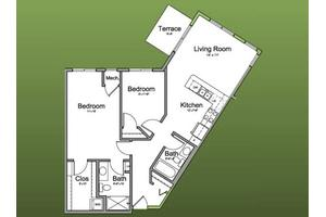 The Heritage - Premier Select Series - 1011 Sq. Ft., The Homestead at Morton Grove