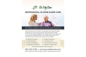 On My Own Independent Living Services, Citrus Heights, CA