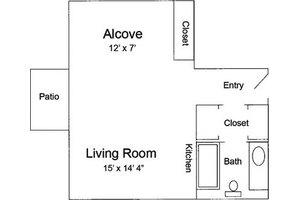 Alcove - 480, Pacifica Senior Living Calaroga Terrace