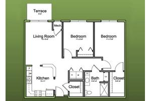 The Debut - Affordable Series - 1032 Sq. Ft., The Homestead at Morton Grove