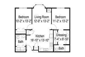 Two Bedroom, Prophets Riverview