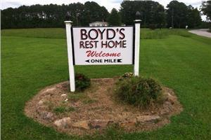 Boyd's Rest Home, Macon, NC