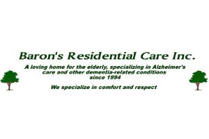 Baron's Residential Care Inc., San Diego, CA