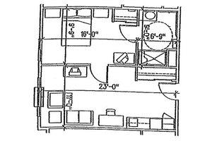 One Bedroom, Brookdale Hagerstown