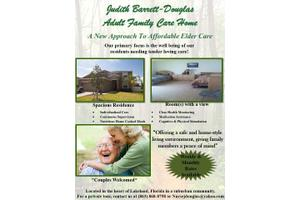 Judith Barrett Douglas AFCH, Lakeland, FL