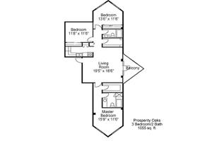 Three Bedroom, Two Bath, Brookdale Palm Beach Gardens