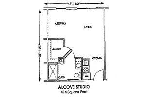 Alcove Studio, Brookdale Conway