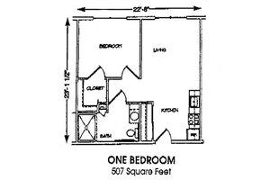 1 Bedroom, Brookdale Conway