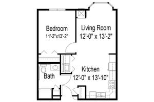 One Bedroom, Prophets Riverview
