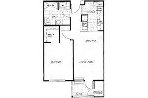 One Bedroom, Brookdale Eagle Point