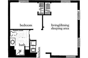 One Bedroom Deluxe, Atria Briarcliff Manor