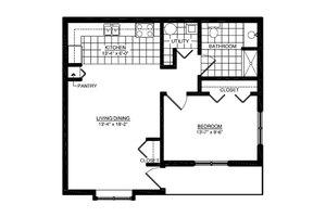 One Bedroom Villa, American House Dearborn Heights Senior Living