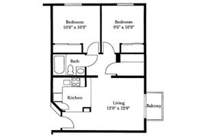 Two Bedroom, Brookdale San Marcos