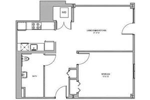 One Bedroom, Jaclen Tower Apartments