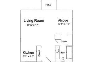 Alcove - 520, Pacifica Senior Living Calaroga Terrace