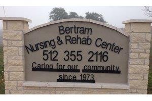 Bertram Nursing and Rehab Center, Bertram, TX