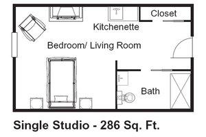 Traditional Private Suite, Brookdale Marietta
