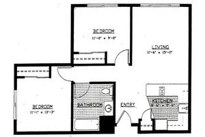 2 Bedroom Unit - Type B, Brookdale Wilsonville