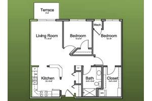 The Celeste - Affordable Series - 918 Sq. Ft., The Homestead at Morton Grove