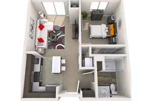 One-Bedroom, Treeo