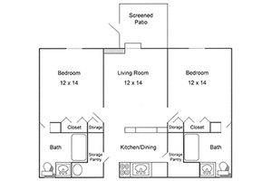Two Bedroom, Cardinal Retirement Village