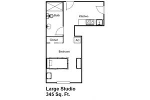 Large Studio, Brookdale Margate
