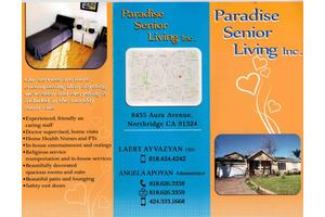 Paradise Senior Living 1, Northridge, CA