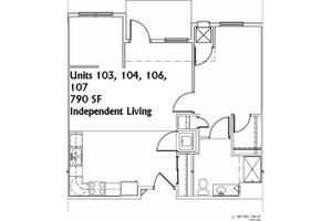 Unit 103 - IL, The Lakeside Village in Panora