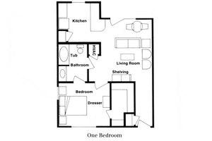 One Bedroom, Parkwood Retirement Community